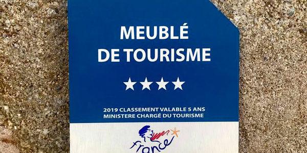 Classement  en meublé de tourisme 4 étoiles